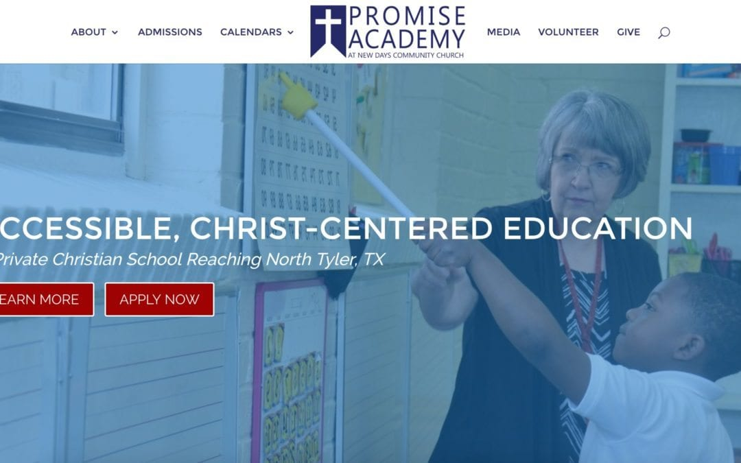 NEW Promise Academy Website!